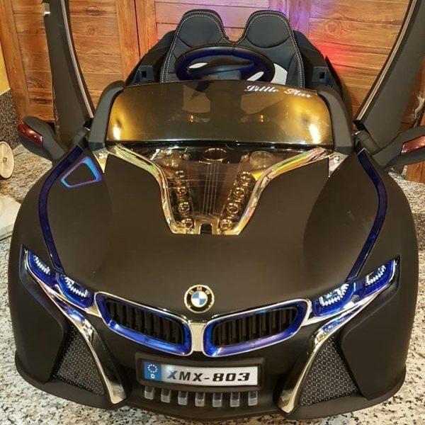 ماشین شارژی BMW 803 سیاه رنگ